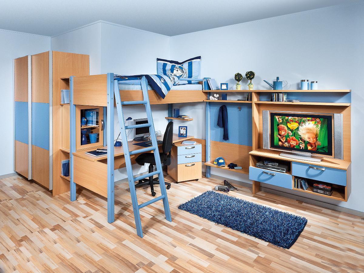 Studentsk pokoje na m ru kuchyne for Jugendzimmer stockbett